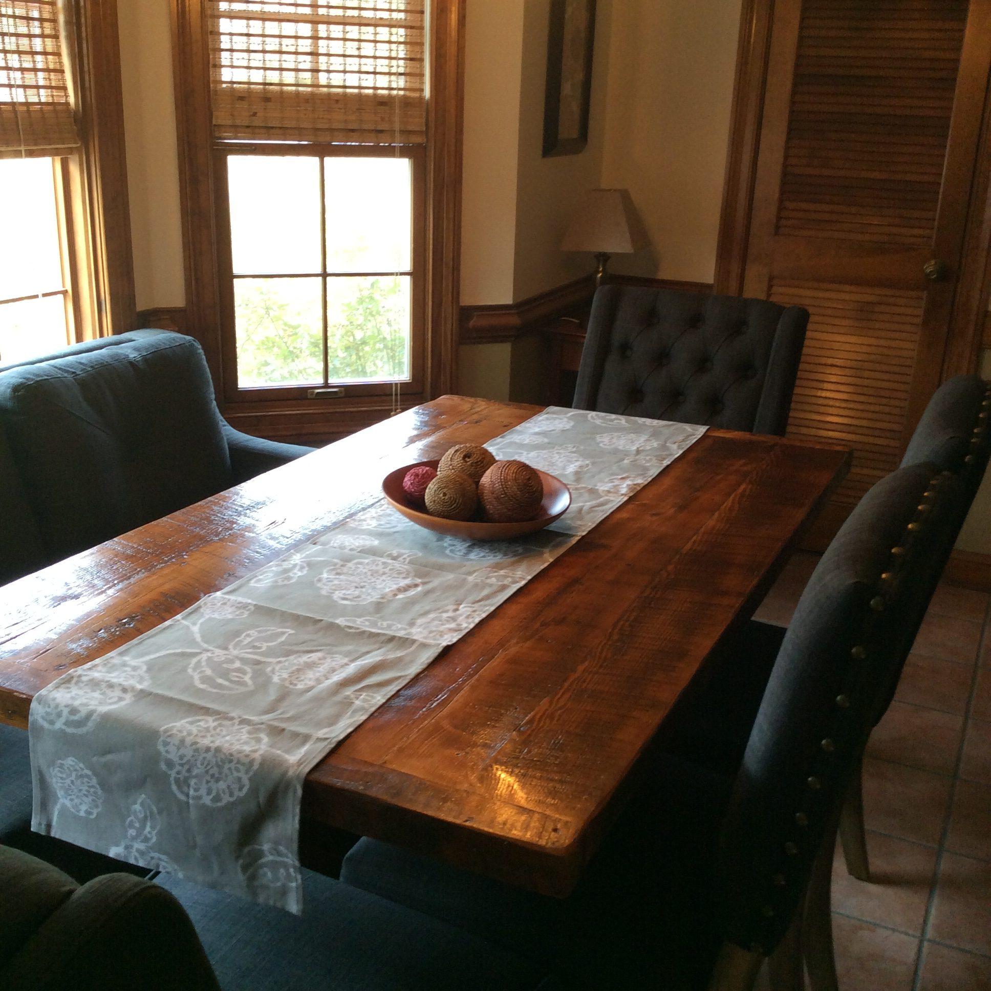 Barn Wood Dining Table Farmhouse